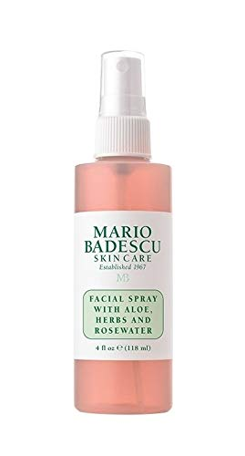 Mario Badescu spray, top-rated and top-selling facial spray.
