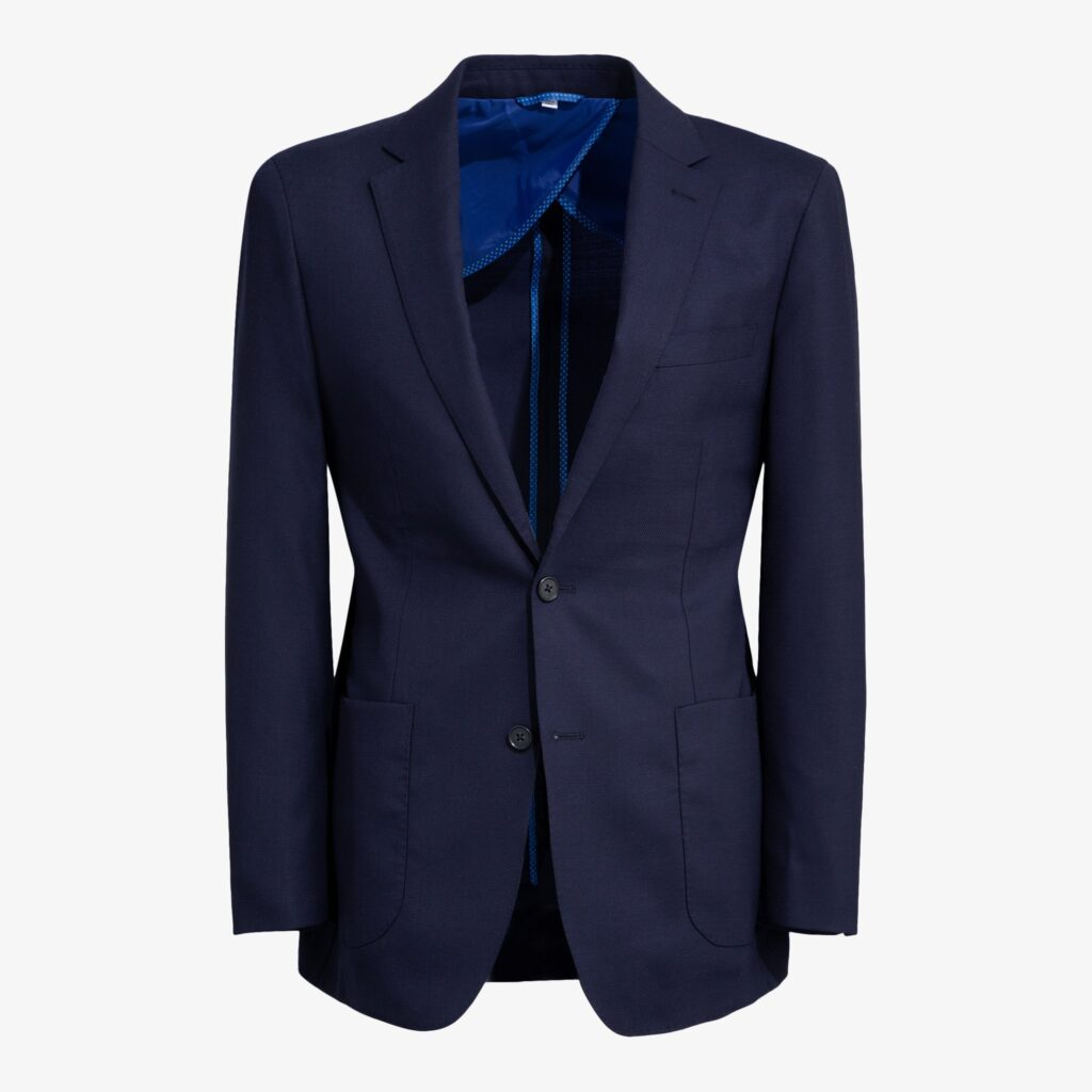 A gorgeous, form-fitting blazer from Mizzen+Main.