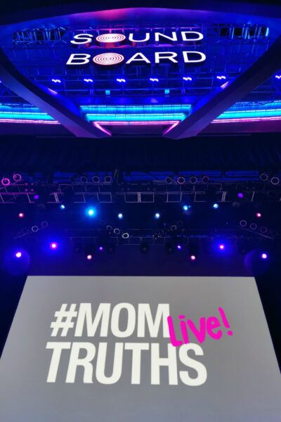 View of the MOMTRUTHS Live screen in Motorcity Casino's Sound Board.