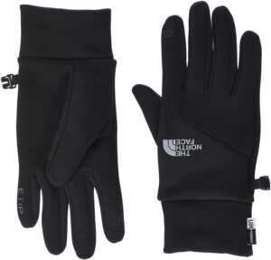 North Face gloves that can be used while using your phone.