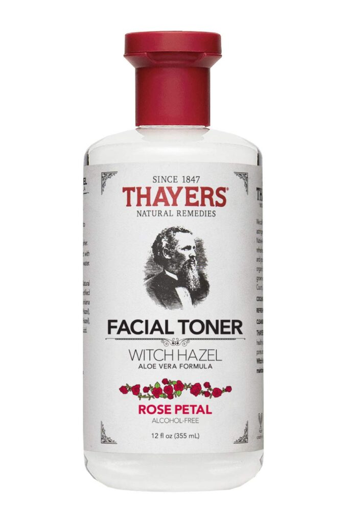 Thayers Facial Toner in Rose Petal.