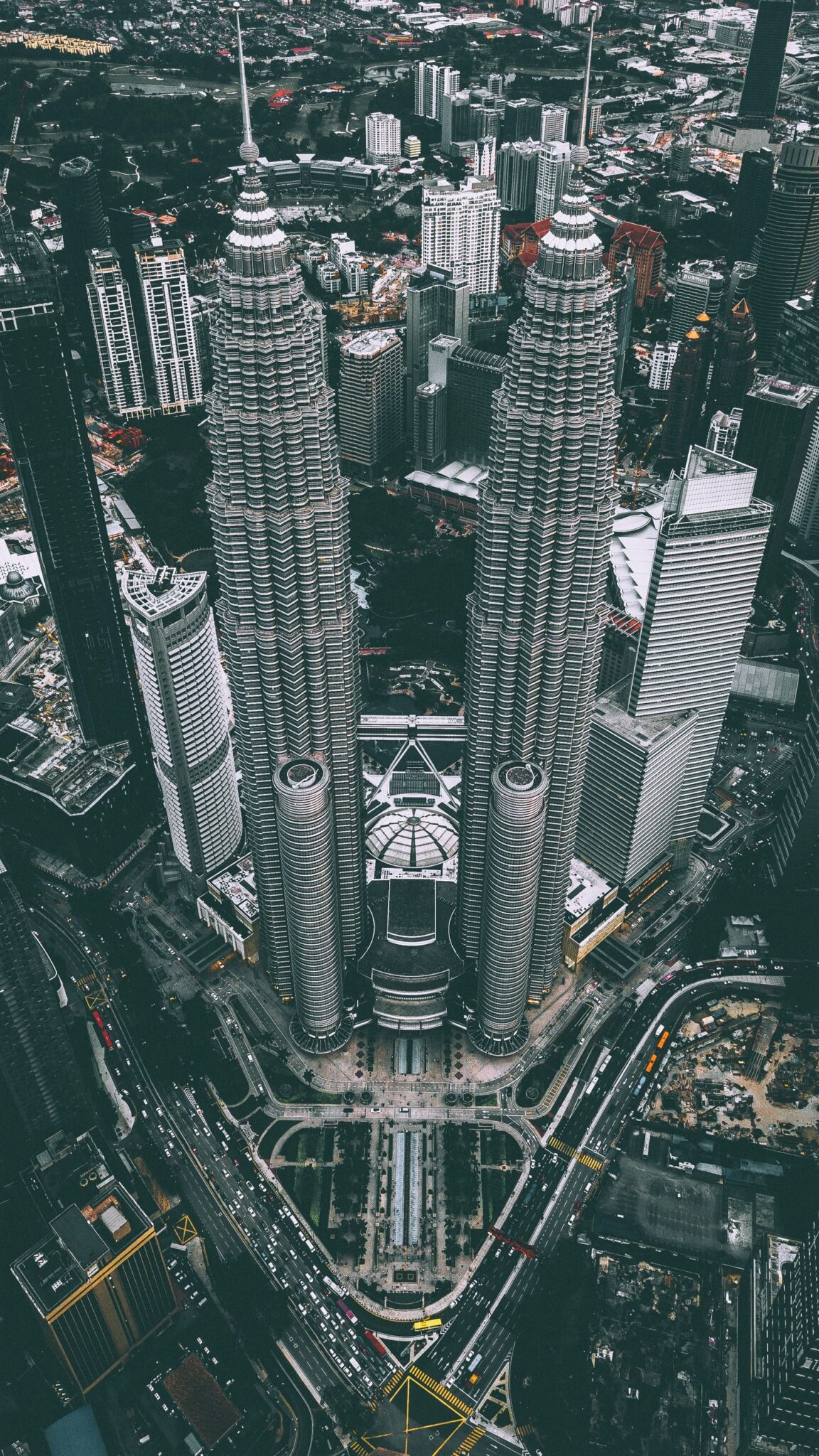Buildings in Malaysia and urban area.