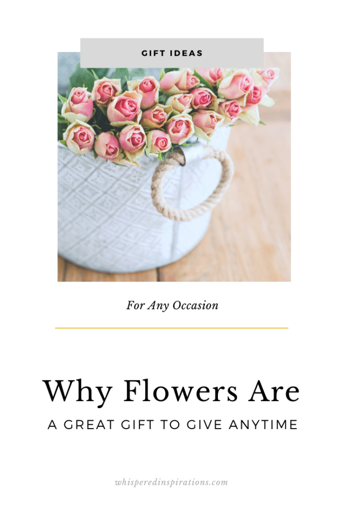 Flowers have stood the test of time as a great gift to give. Whether it is for a special occasion, a bump in a relationship, or just because. Here's why!