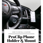 If you have a Dodge Challenger and are thinking about getting a ProClip custom phone holder, here's how to install a ProClip! Plus, see what we thought about this custom phone holder that is specifically made for your car and your phone. We have an adjustable phone holder that adjusts for the perfect fit. The mount is specifically made for our 2016 Dodge Challenger. No more shaking or flimsy phone holders. For a busy mom, this is THE phone holder to have. #ProClip #ProClipUSA #technology #tech