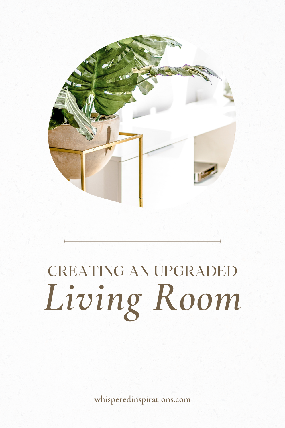 A beautiful, bright, living room. This article covers tips for creating an upgraded living room.